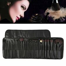 32pcs Professional Soft Cosmetic Eyebrow Makeup Brush Set Kit + Pouch Bag KG