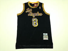 NBA Los Angeles Lakers Kobe Bryant #8 Hardwood Classic Black Swingman Jersey