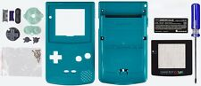 Game Boy Color [GBC] Replacement Case/Shell/Housing [Teal Green]