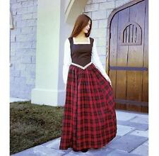 Scottish Highland Lassie Dress. Perfect For Stage & Re-enactment Costume LARP