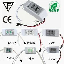 Power Supply Driver For LED Light Lamp Bulb 1-3W 5W 10W 20W 30W 85-265V 300mA US