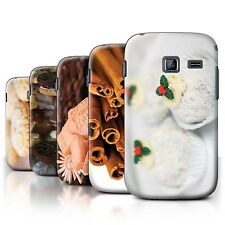 STUFF4 Back Case/Cover/Skin for Samsung Galaxy Y Duos/S6102/Christmas Food