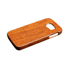 Flower-Wood Phone Case Cover Fitted Skin for Samsung Galaxy S6/S7 Edge Plus
