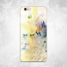 Yellow Animals Marble Grain Silicone TPU Rubber Case Cover Skin Back iPhone Plus