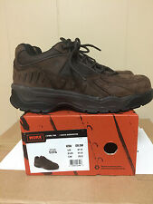 Mens WORX by Red Wing Steel Toe Tennis Shoes size 81/2M-DISCONTINUED STYLE #5374