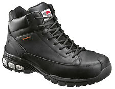 Avenger Mens Composite Toe Waterproof EH Hiker W Black Leather Boots