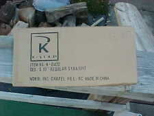 """original k-line """"S"""" scale..am. flyer track...k-0432..20 sections of 10"""" straight"""