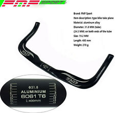 31.8mm 42cm Bullhorn Riser Bar TT Bar for Fixed Gear Bike Bicycle Handlebar