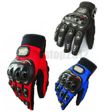 Motorcycle Motocross Racing Pro Biker Ride Dirt Bike Cycling Fiber Gloves M/L/XL