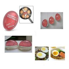 Egg Perfect Color Changing Timer Yummy Boiled Eggs + Spring Wire Egg Cup GK
