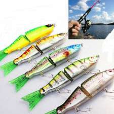 New Lot 1PC Kinds of Fishing Lures Crank baits Hooks Minnow Baits Tackle 16.5cm