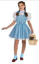 Girls DOROTHY Wizard of Oz costume Size 4/6  7/8 Dress Up gown Sparkle gingham