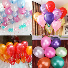 "12"" 10 20 50pcs Latex Helium Ballons Wedding Birthday Party Decor New"