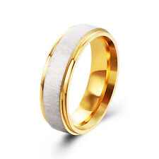 Vintage Gold Filled Fashion Mens Womens Wedding Rings Size 7 8 9 10 11 Wholesale