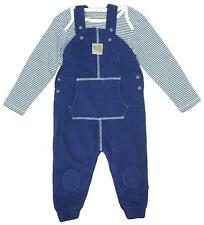 Boys Dungarees Bodysuit Outfit Teddy Bear Set Newborn Baby to 12 Months