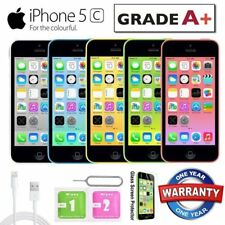 Apple iPhone 5c 16GB Factory Unlocked Sim Free Smartphone - Various Colours UK
