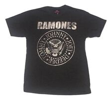 The Ramones Classic Presidential Logo Grey Heather T-Shirt M-2XL 100% Licensed