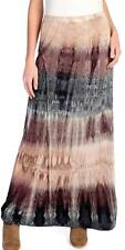 NEW - Indigo Thread Co.™ Tie-Dyed Knit Elastic Waist Tiered Maxi Skirt