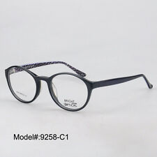 9258 unisex round full rim acetate RX optical frames myopia eyewear eyeglasses