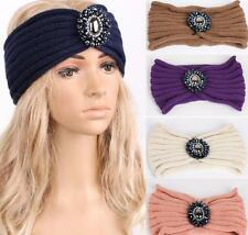 women knit headband crochet winter warmer lady hairband Hair Band headwrap H003