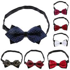 Men's Butterfly Pre-tied Bow tie Wedding Party Tuxedo Vintage Bowtie Necktie