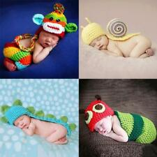 Lovely Newborn Baby Crochet Photography Photo Props Knitted Outfits Costume