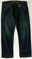 Mens AEO Relaxed Straight Jeans 36x30 36x32 38x32 dark vintage American Eagle