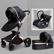 Baby Stroller 2016 Hot Mom 3 in 1 travel system Bassinet pram Pushchair car seat