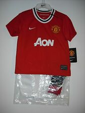 BNWT The Official (NIKE) Home Manchester United Football Kit/Set Age 3-24 Months