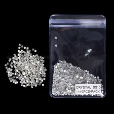 SS3-SS40 TOP Quality AB Crystal Flatback Nail Rhinestones Nail Art Decoration