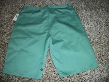 VOLCOM STONE New NWT Mens Walk Shorts Casual Green Solid Chino 32 33 34 36 38