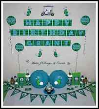 ** GOLF Personalised BIRTHDAY Kids Mens Adults Sports Party Decorations **