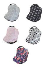 3 in 1 Car Seat Canopy Nursing Cover Shopping Cart Baby Shower Gift Infant Baby