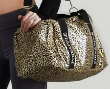 Pineapple Gold Leopard Print Dance Gym Fitness Flight Bag Holdall