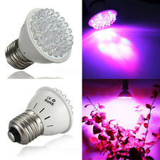 Promotions E27 1.9W 38 LED Red Blue Hydroponic Plant Grow Light Bulb Lamp New