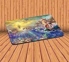 Computer Mouse Pad For Gaming Anti-Slip With The Little Mermaid Mousepad