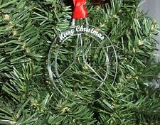 Bauble Acrylic MERCEDES Personalised Merry Christmas Tree Decoration Gift Merc