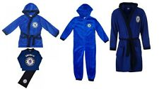 NEW Boys and Adults  Official Chelsea  Dressing Gown Robe,  Pyjamas Bodysuit