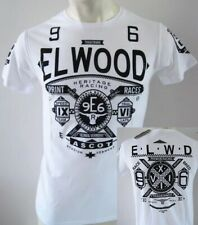 ELWOOD Mens Latest Premium Top Tee T-shirt Henleys Size M L XL XXL grey