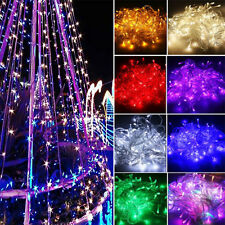 9 Colors LED Fairy String Lights Lamp Bulb Christmas Xmas Party Decor Waterproof