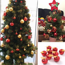 Cute Apples Ornaments Christmas Hanging Baubles DIY Xmas Tree  Party Decorations