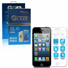 Tempered Glass / PET Clear Screen Protector For iPhone 5 / 5c / 5s SE