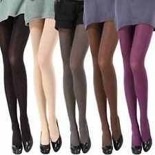 Sexy Slim Opaque Womens Pantyhose Elastic Tights Footed Socks Candy Colors