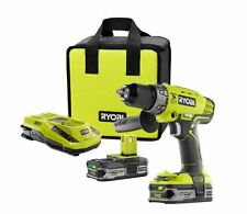 18-Volt Lithium-Ion Cordless Hammer Drill Kit, Charger & 2 Batteries