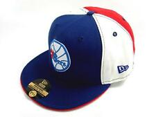 Authentic New Era 5950 59Fifty Fitted Baseball Cap - Philadelphia Sixers (BWN)