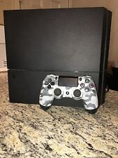 Sony Playstation 4 PS4 MATTE BLACK 500GB 1215A Console With Controller Camo Hdmi