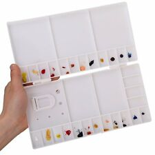 Transon Plastic Watercolor Palette Box Hard Lid Paint Tray Palette 25 Or 33 well