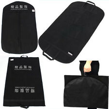 New Dress Storage Garment Carrier Bag Suit Cover Trousers Travel Hanger Protect