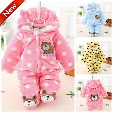 Newborn Baby Clothing Winter Boy Rompers Infant Clothes Bear Snowsuit Babies kid