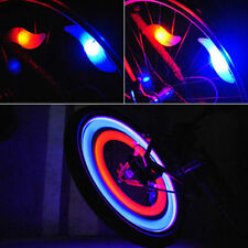 New Safe Bright Bike Bicycle Cycling Car Wheel Tire Tyre Led Spoke Light Lamp RF